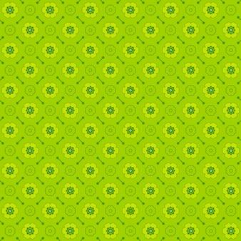 Patroon gemaakt met monochrome elementen