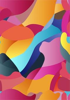 Patroon kleurrijk