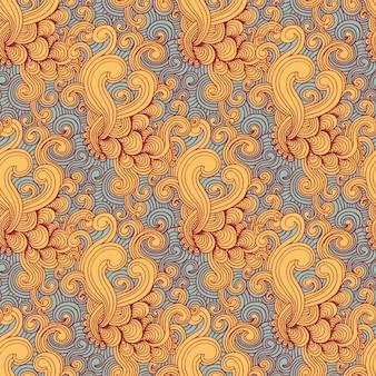 Patroon kleurrijke swirl
