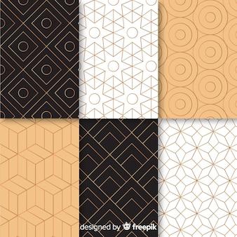 Patroon met gemotric luxe collectie