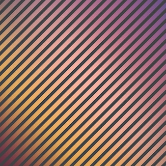 Patroon met gradiëntstrepen. abstracte geometrische achtergrond. disco en elegante stijlillustratie