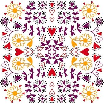Patroon met hartjes voor valentijnsdag. naadloze patroon.