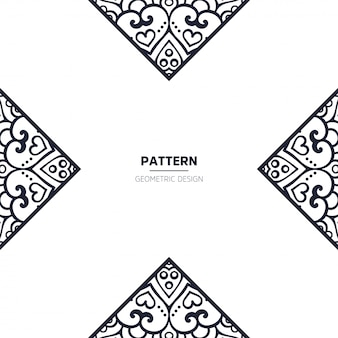 Patroon met mandala