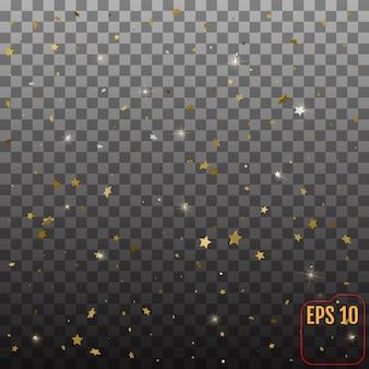 Patroon met sterren.