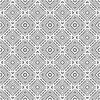 Patroon met zwart-witte kleurstijl