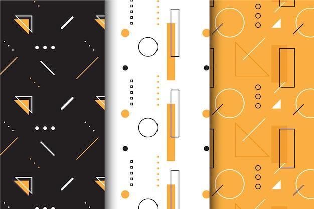 Patroon minimale geometrische set