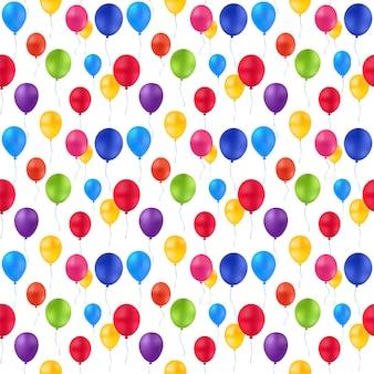 Patroon van ballonnen