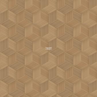 Patroon van bamboe mandenmakerij. natuurlijk patroon en textuur voor achtergrond. Premium Vector