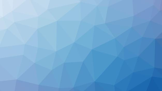 Patroon van de de driehoeksvorm van de hemel het blauwe abstracte geometrische lage poly