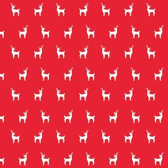 Patroon van de decoratie backgropund van herten het dierlijke