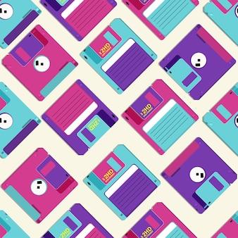 Patroon van diskette voor computer