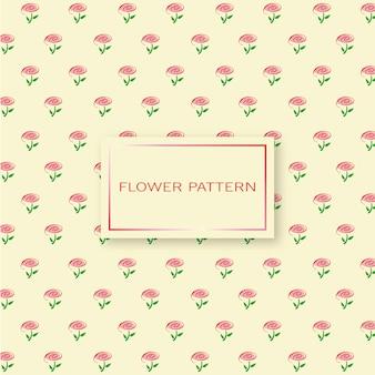 Patroon van roze bloemen