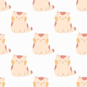 Patroon van schattige katten