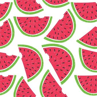 Patroon van watermeloen