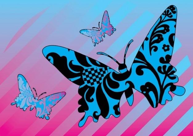 Patroon vlinders