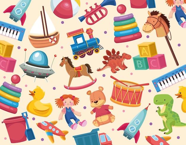 Patroon voor kinderspeelgoed