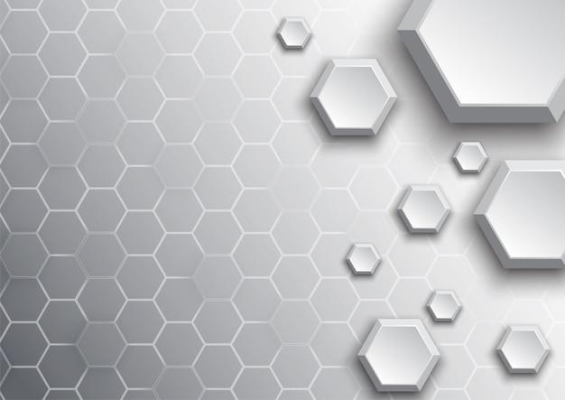 Patroon zeshoek abstract als achtergrond