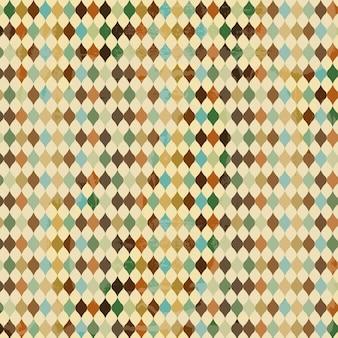 Patroonontwerp over witte vectorillustratie als achtergrond