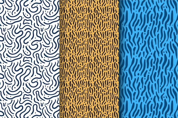 Patroonpakket met afgeronde lijnen
