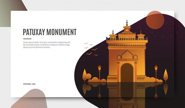 Patuxay-monument