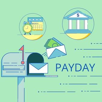 Payday illustratie