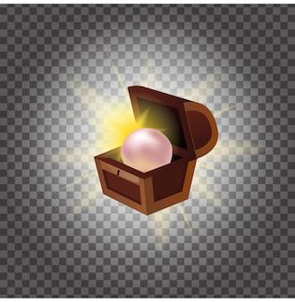Pearl in een kist