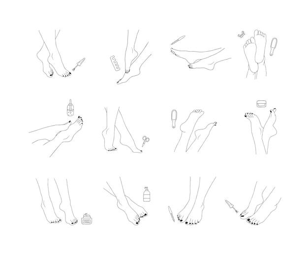Pedicure pictogram