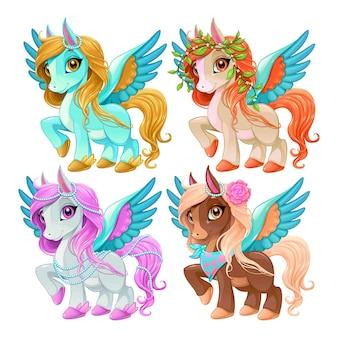 Pegasus-set voor baby's