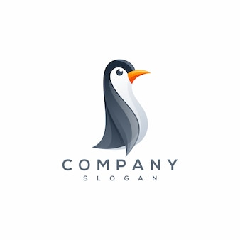 Penguin logo vector