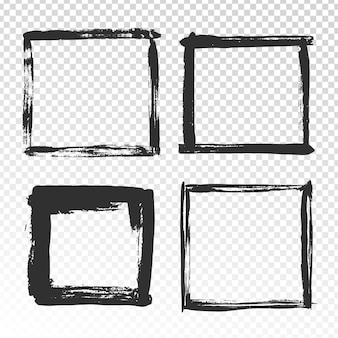 Penseelstreken frame