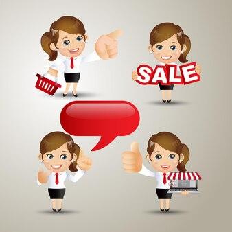 People set - business - verkoop