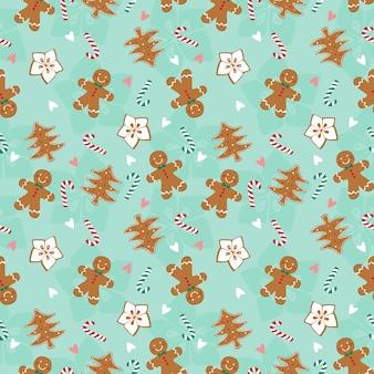 Peperkoek kerst patroon