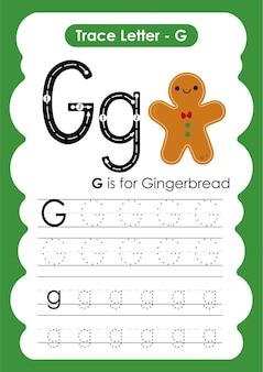Peperkoek trace lijnen schrijven en tekenen oefenwerkblad voor kinderen