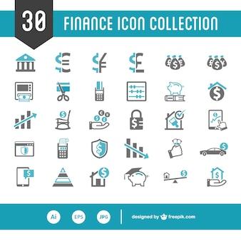 Personal finance vector set