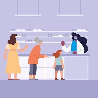 Personengroep in apotheek