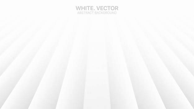 Perspectieflijnen lege bedrijfs witte abstracte achtergrond