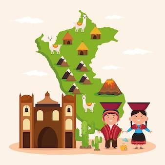 Peru cultuur poster