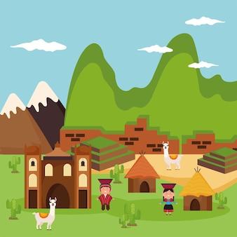 Peru cultuurlandschap