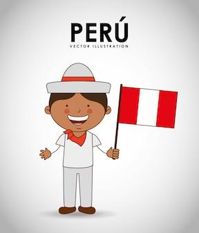 Peru jongen
