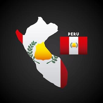 Peru land ontwerp