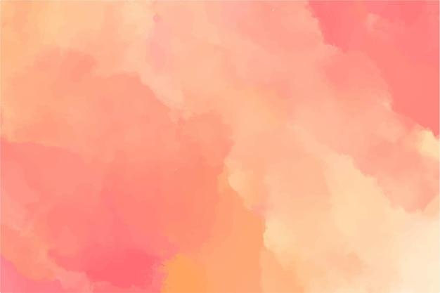 Perzik aquarel achtergrond