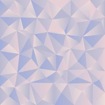 Pestel driehoekige diamant blauwe achtergrond