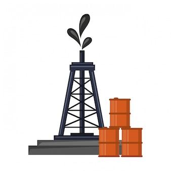 Petroleumraffinaderij pomp