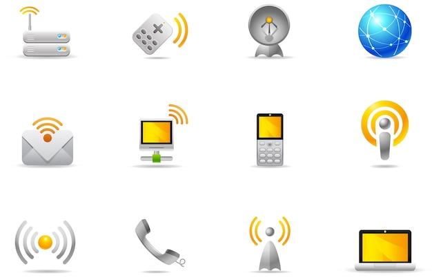 Philos-pictogrammen - set 8 | draadloze communicatie