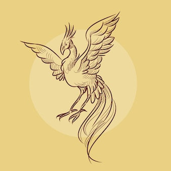 Phoenix illustratie