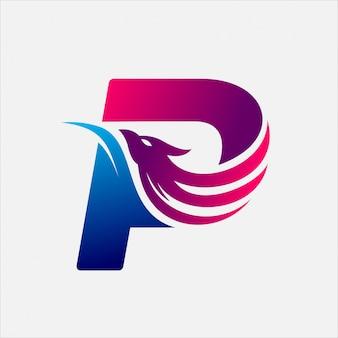 Phoenix letter p