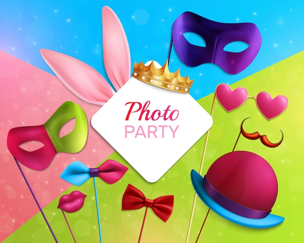 Photo booth feest samenstelling