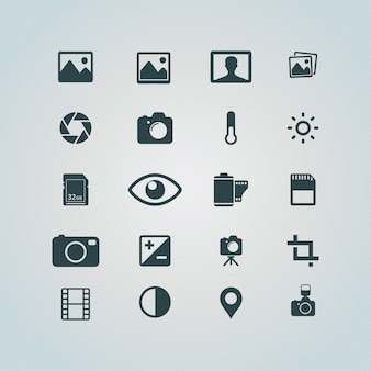 Photography pictogrammen gratis
