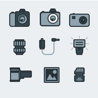 Photography pictogrammen