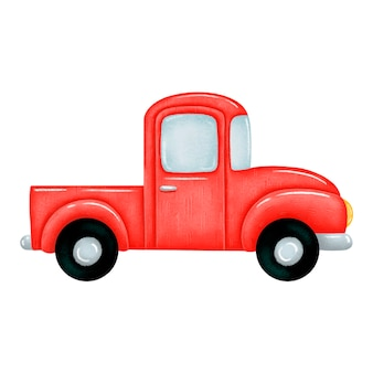 Pick-up truck illustratie